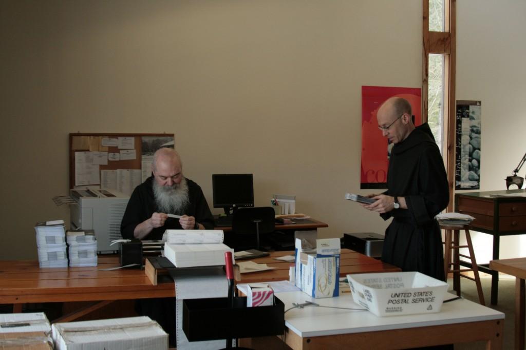 labeling monastic newsletter